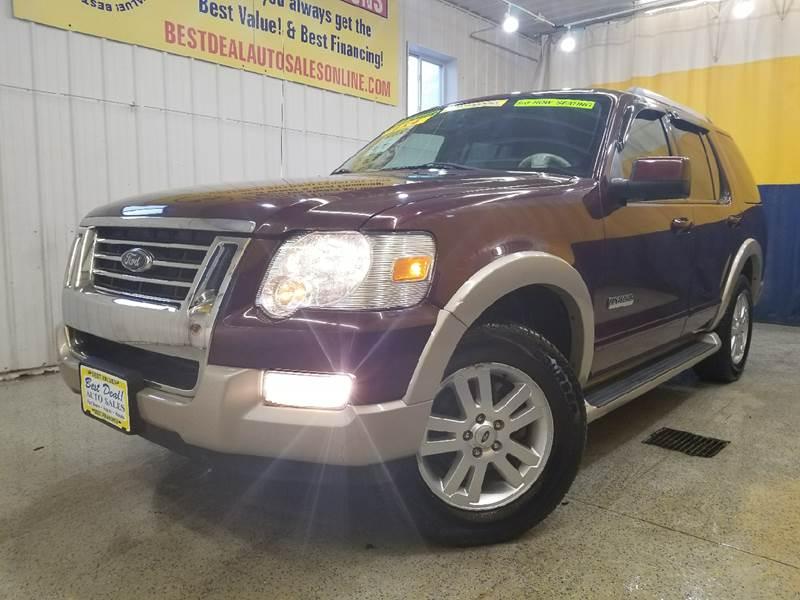 Ford Explorer In Fort Wayne IN Best Deal Auto Sales - 2006 explorer