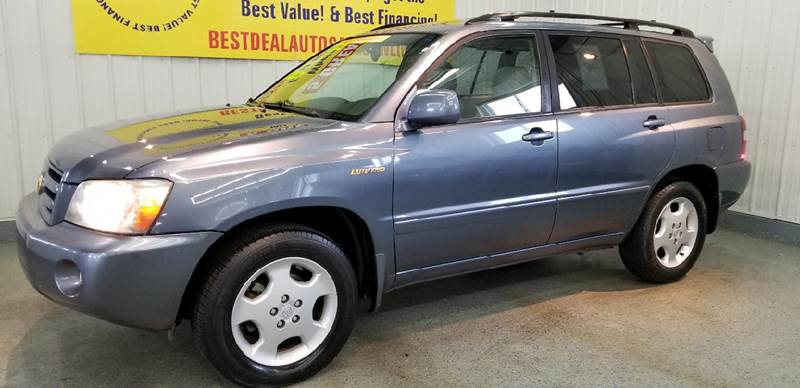 Toyota Highlander In Fort Wayne IN Best Deal Auto Sales - 2004 highlander