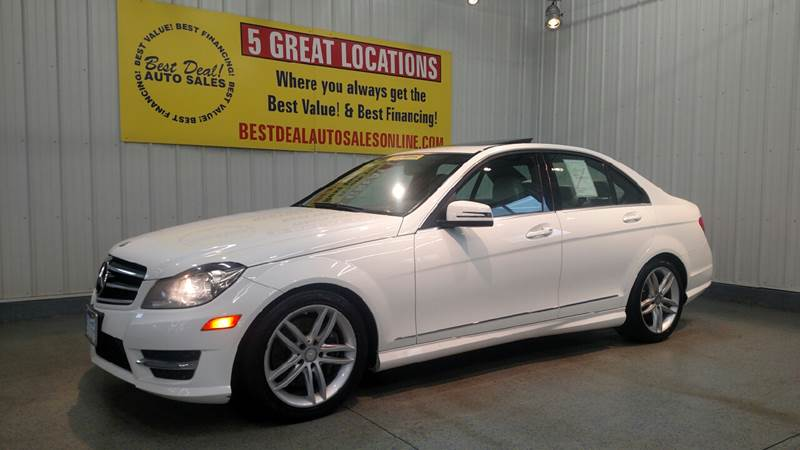 2014 Mercedes Benz C Class For Sale At Best Deal Auto Sales   Auburn