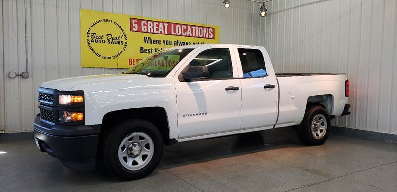2014 chevrolet silverado 1500 work truck in fort wayne in best deal auto sales. Black Bedroom Furniture Sets. Home Design Ideas