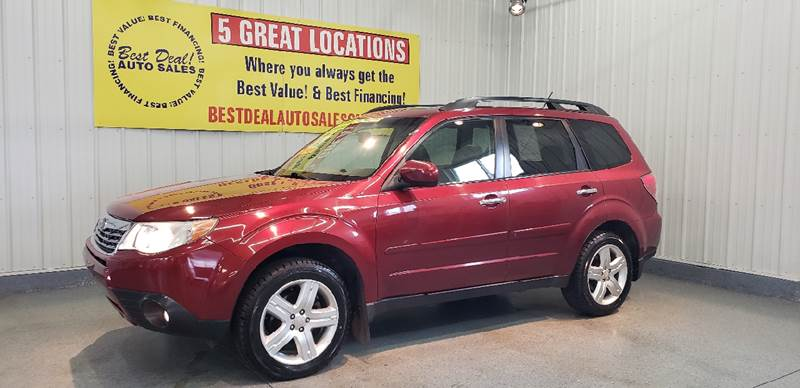 2009 Subaru Forester 2 5 X Limited In Fort Wayne In Best Deal Auto Sales