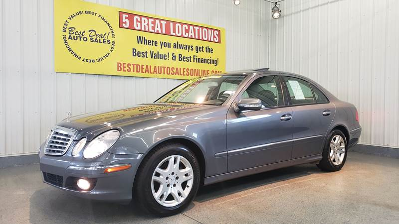 2007 Mercedes Benz E Class For Sale At Best Deal Auto Sales   The