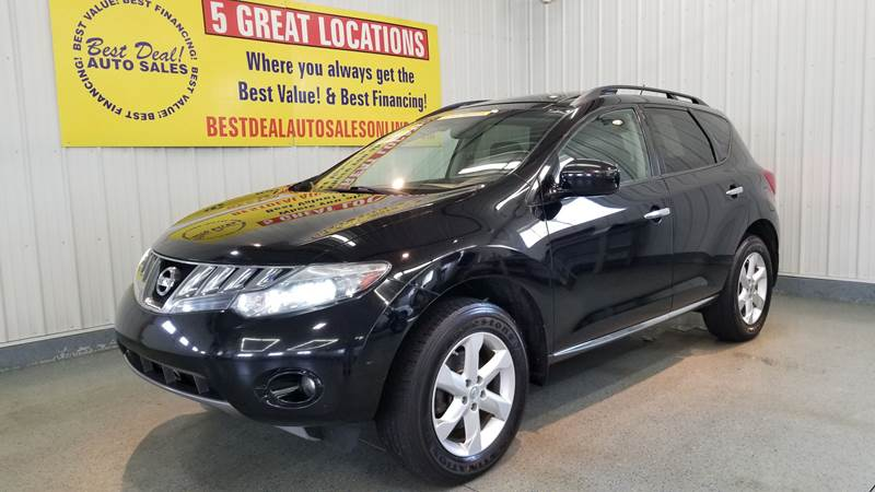 Nissan Murano For Sale >> 2010 Nissan Murano Sl In Fort Wayne In Best Deal Auto Sales