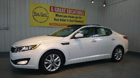 2011 Kia Optima for sale at Best Deal! Auto Sales - The Import Store in Fort Wayne IN