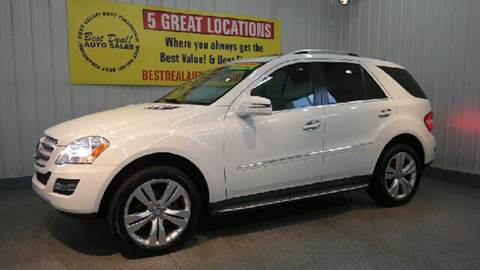 2011 Mercedes-Benz M-Class for sale at Best Deal! Auto Sales - The Import Store in Fort Wayne IN