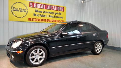 2007 Mercedes-Benz C-Class for sale at Best Deal! Auto Sales - The Import Store in Fort Wayne IN