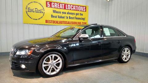 2010 Audi S4 for sale at Best Deal! Auto Sales - The Import Store in Fort Wayne IN