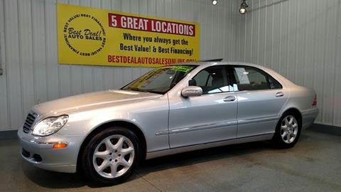2004 Mercedes-Benz S-Class for sale at Best Deal! Auto Sales - The Import Store in Fort Wayne IN