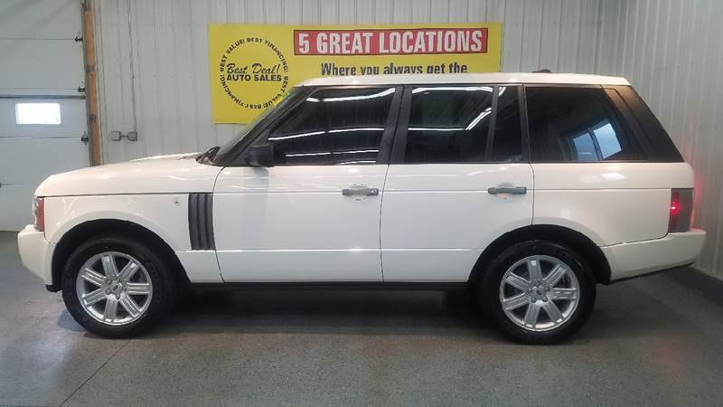 2008 Land Rover Range Rover 4x4 HSE 4dr SUV - Fort Wayne IN