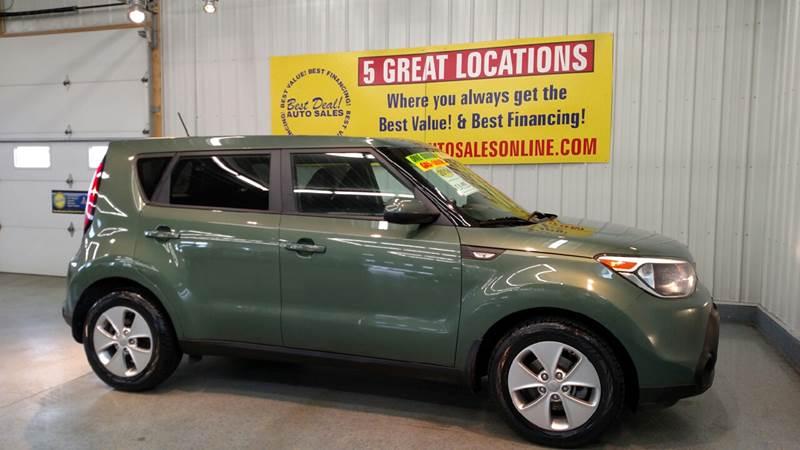 2014 Kia Soul 4dr Wagon 6A - Fort Wayne IN