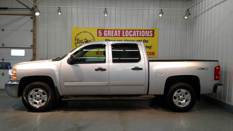2012 Chevrolet Silverado 1500 4x4 LT 4dr Crew Cab 5.8 ft. SB - Fort Wayne IN