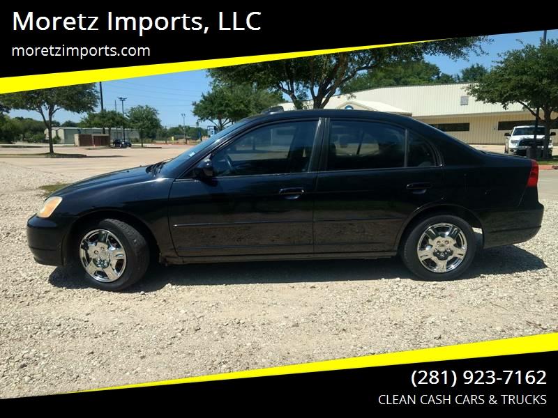 2003 Honda Civic For Sale At Moretz Imports, LLC In Spring TX