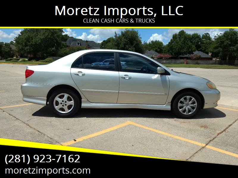 2004 Toyota Corolla For Sale At Moretz Imports, LLC In Spring TX
