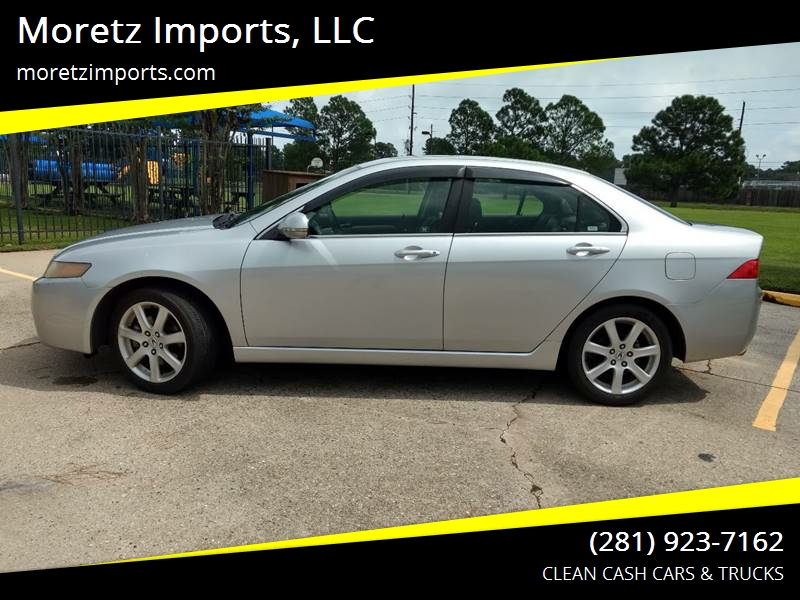 Acura TSX In Spring TX Moretz Imports LLC - 2004 acura tsx engine for sale