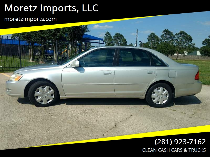 2000 Toyota Avalon For Sale At Moretz Imports, LLC In Spring TX