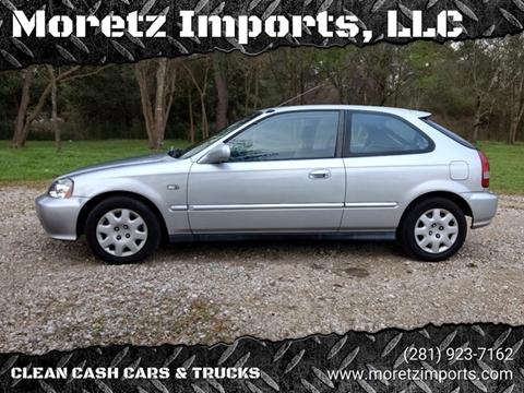 2000 Honda Civic for sale in Spring, TX