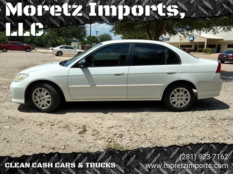2004 Honda Civic for sale in Spring, TX