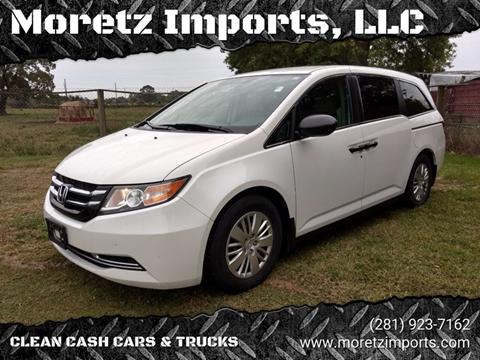 2014 Honda Odyssey for sale in Spring, TX