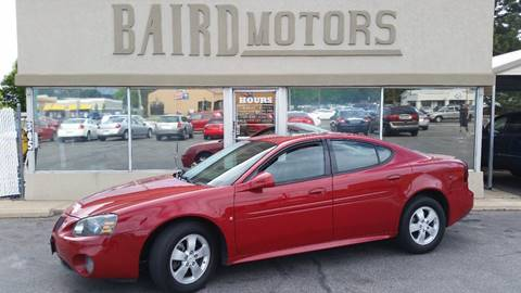 2007 Pontiac Grand Prix for sale at BAIRD MOTORS in Clearfield UT