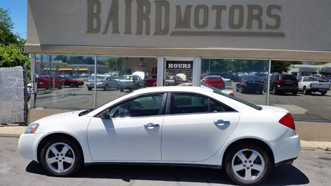 2008 Pontiac G6 for sale at BAIRD MOTORS in Clearfield UT