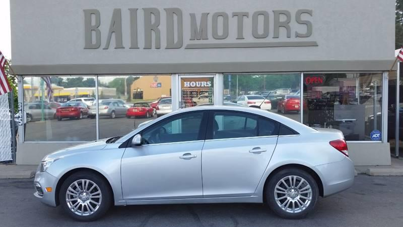 2015 Chevrolet Cruze ECO Auto 4dr Sedan w/1SF - Clearfield UT