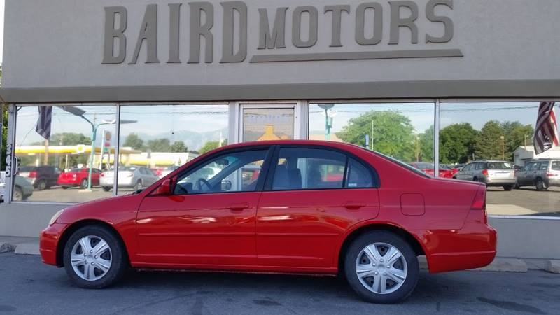 2002 Honda Civic for sale at BAIRD MOTORS in Clearfield UT