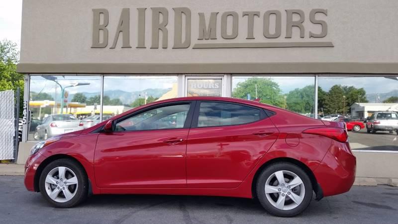2013 Hyundai Elantra for sale at BAIRD MOTORS in Clearfield UT