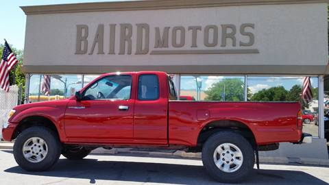 1998 Toyota Tacoma for sale at BAIRD MOTORS in Clearfield UT