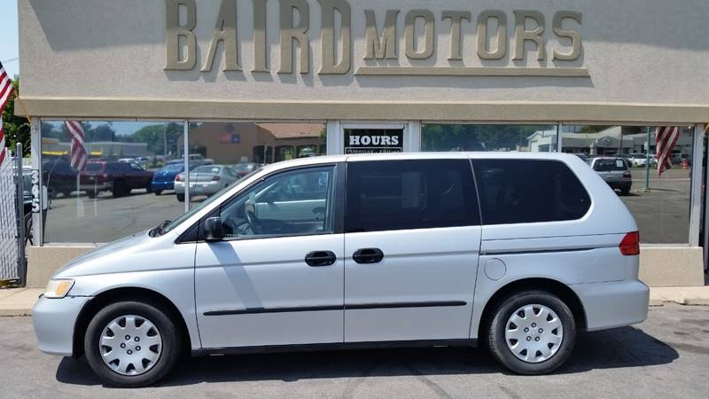 2001 Honda Odyssey for sale at BAIRD MOTORS in Clearfield UT
