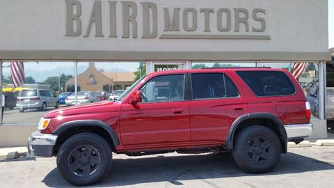 2001 Toyota 4Runner for sale at BAIRD MOTORS in Clearfield UT