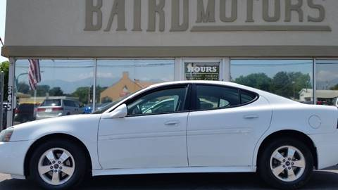 2006 Pontiac Grand Prix for sale at BAIRD MOTORS in Clearfield UT