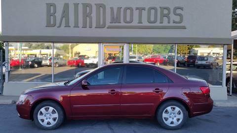 2009 Hyundai Sonata for sale at BAIRD MOTORS in Clearfield UT