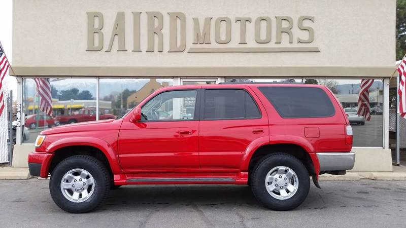 2000 Toyota 4Runner for sale at BAIRD MOTORS in Clearfield UT