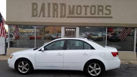2007 Hyundai Sonata for sale at BAIRD MOTORS in Clearfield UT
