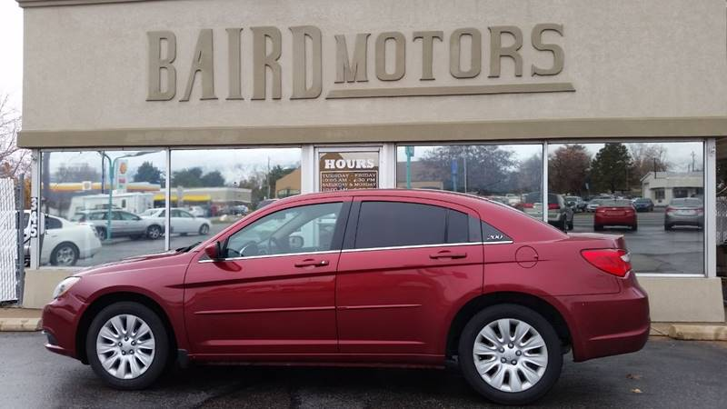 2012 Chrysler 200 for sale at BAIRD MOTORS in Clearfield UT