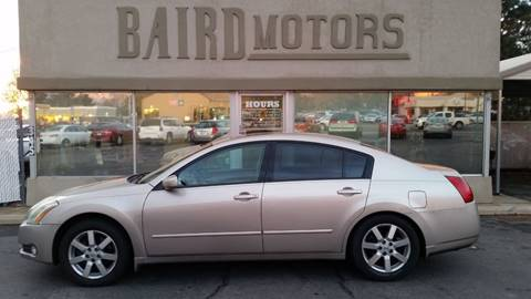 2006 Nissan Maxima for sale at BAIRD MOTORS in Clearfield UT