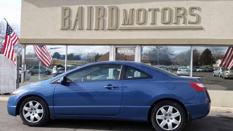 2008 Honda Civic for sale at BAIRD MOTORS in Clearfield UT