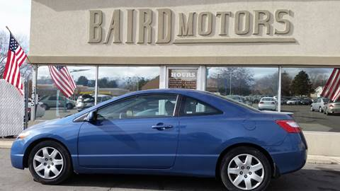 2008 Honda Civic for sale at BAIRD MOTORS in Clearfield UT