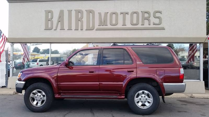 1998 Toyota 4Runner for sale at BAIRD MOTORS in Clearfield UT