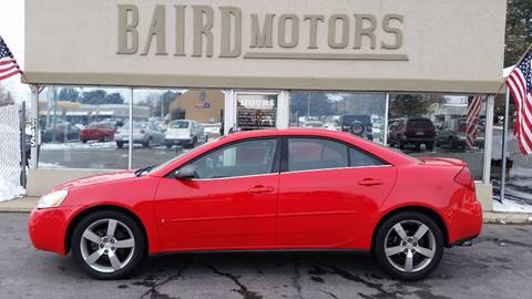 2007 Pontiac G6 for sale at BAIRD MOTORS in Clearfield UT