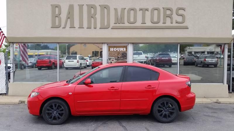 2008 Mazda MAZDA3 for sale at BAIRD MOTORS in Clearfield UT
