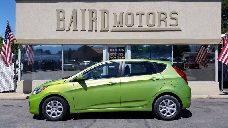 2014 Hyundai Accent for sale at BAIRD MOTORS in Clearfield UT