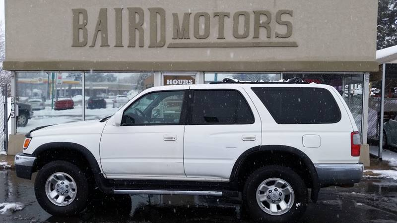 1999 Toyota 4Runner for sale at BAIRD MOTORS in Clearfield UT