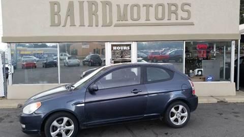2008 Hyundai Accent for sale at BAIRD MOTORS in Clearfield UT