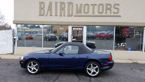 2003 Mazda MX-5 Miata for sale at BAIRD MOTORS in Clearfield UT