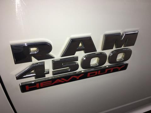 2013 RAM Ram Chassis 4500