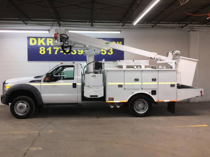 2012 Ford F-550 Super Duty for sale at DKR Trucks in Arlington TX