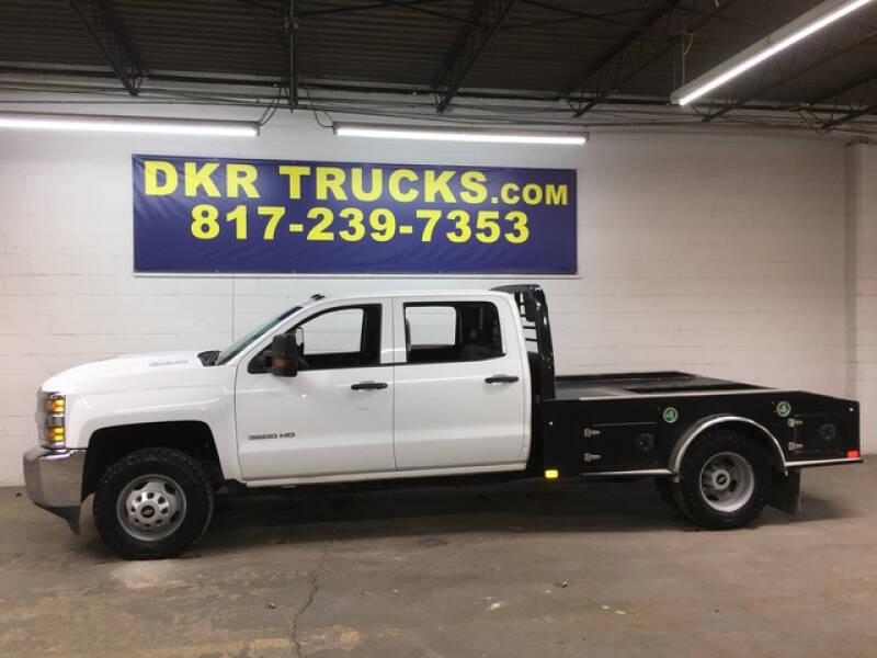 2018 Chevrolet Silverado 3500HD CC for sale at DKR Trucks in Arlington TX