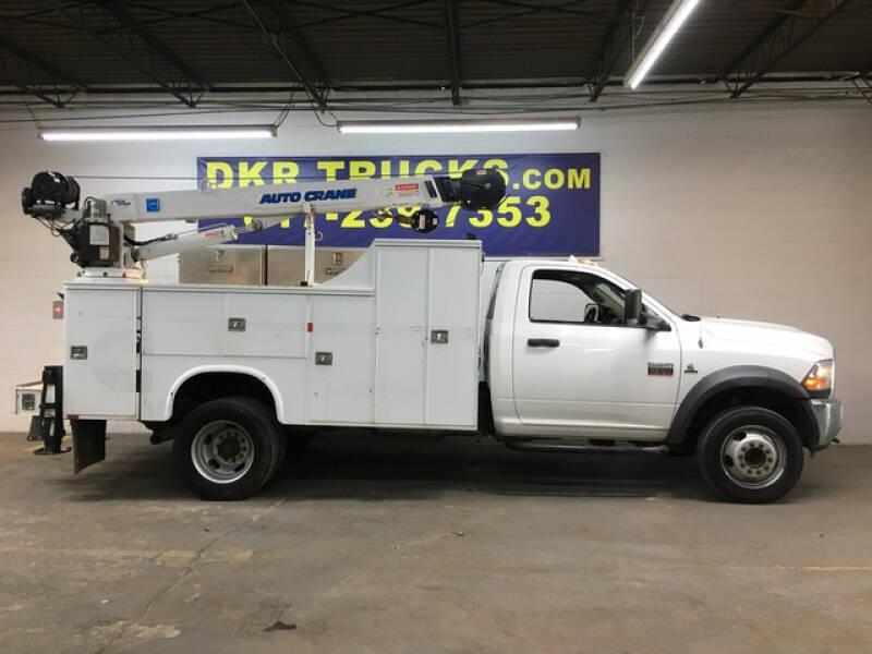 2012 RAM Ram Chassis 5500 for sale at DKR Trucks in Arlington TX