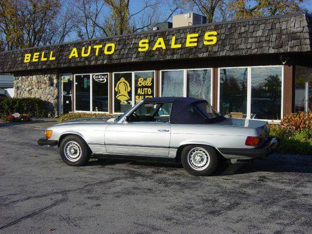 1975 Mercedes-Benz SL-Class for sale at BELL AUTO & TRUCK SALES in Fort Wayne IN